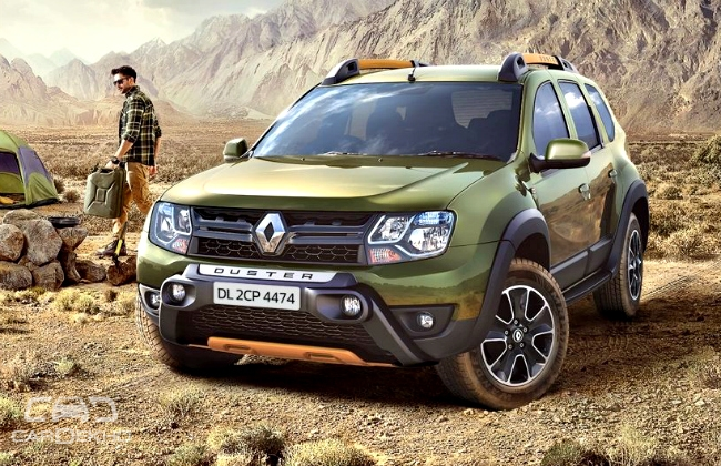 renault duster adventure edition launched zigwheels forum. Black Bedroom Furniture Sets. Home Design Ideas