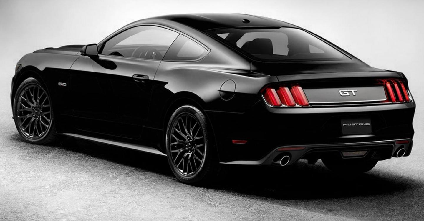 Ford Mustang Shelby Gt Black Jpg