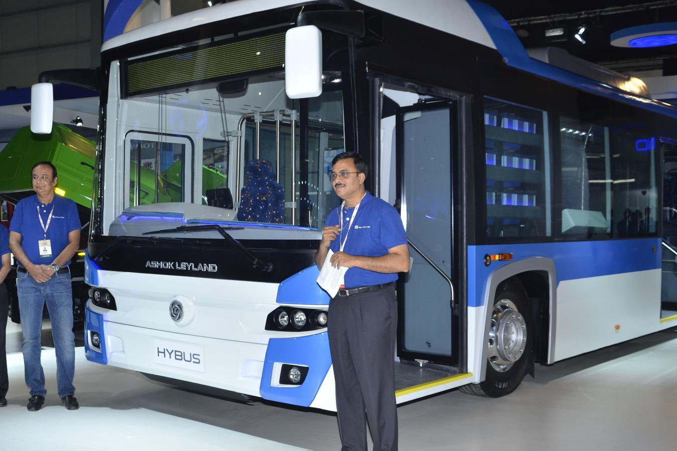 Click image for larger version  Name:Ashok Leyland launches Hybus, India first bus with non-plugin hybrid technology.jpg Views:1 Size:135.3 KB ID:1817