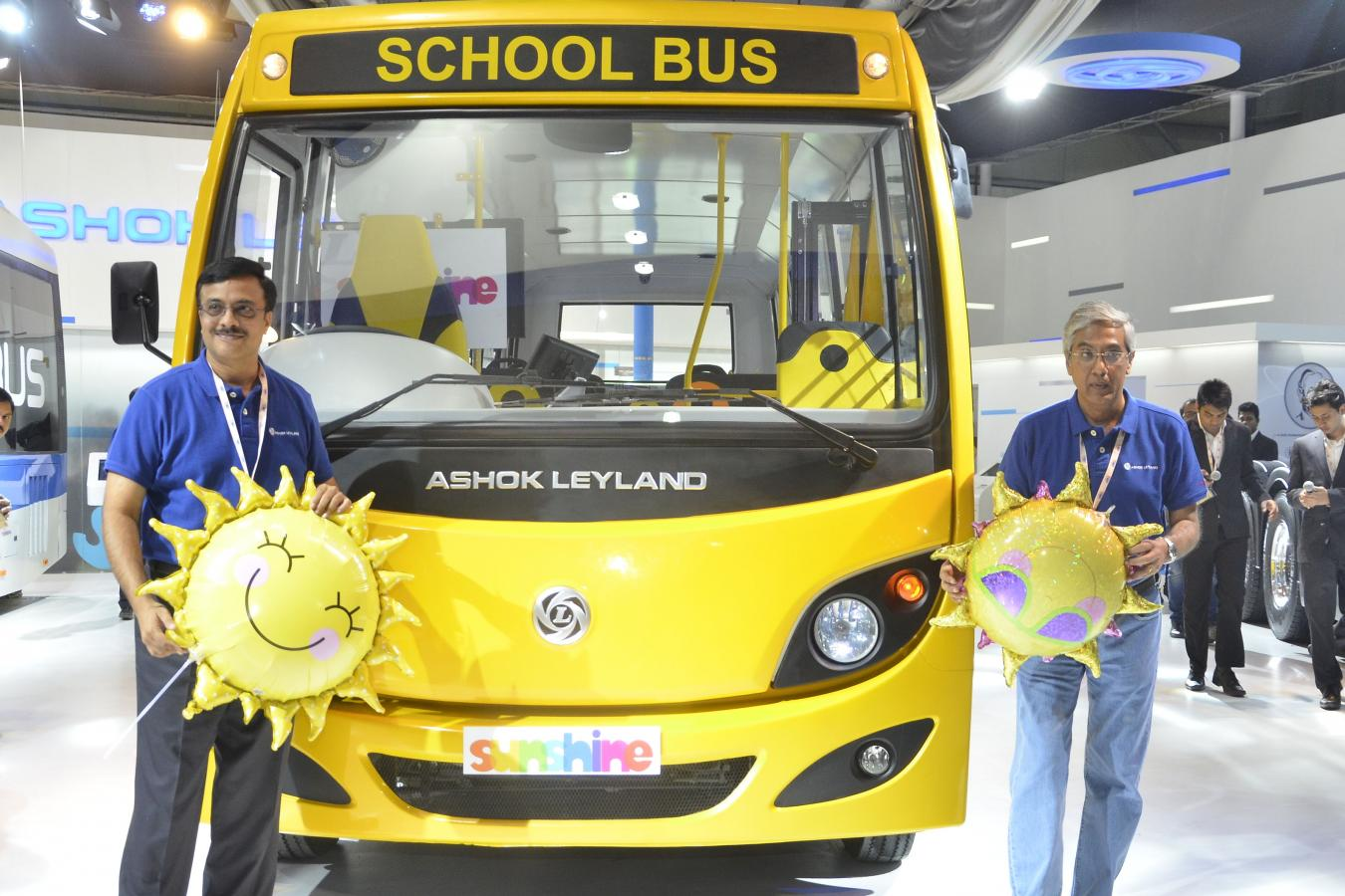 Click image for larger version  Name:Ashok Leyland launches Sunshine school bus, India First school bus with i-alert and 6th Sense technology.jpg Views:1 Size:161.5 KB ID:1818
