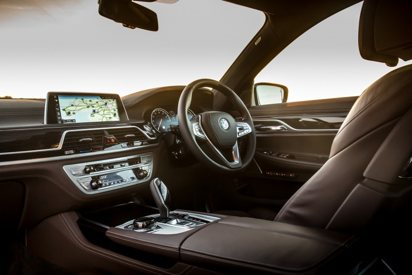 Auto Expo 2016 All New BMW 7 Series