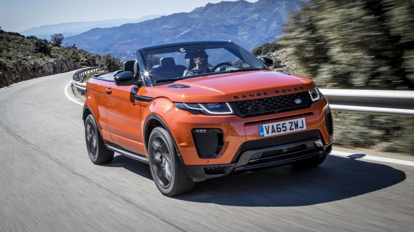 range rover evoque convertible imported to india for. Black Bedroom Furniture Sets. Home Design Ideas