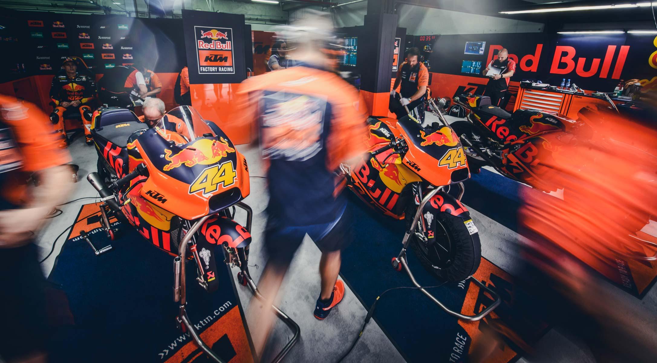 KTM at Aragon MotoGP