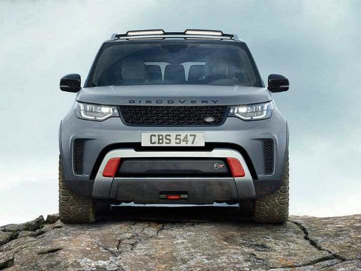 Here Comes The 2019 Land Rover Discovery Svx