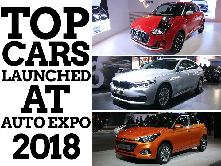 Top launches Auto Expo 2018